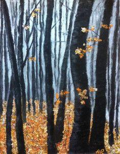 """Gold of autumn"" by Alena Rumak"