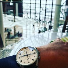 REPOST!!!  Dream comes true. First shot of my @iwcwatches @iwcwatches_france Portugieser chronograph.  Photo Credit: Instagram ID @belblondo
