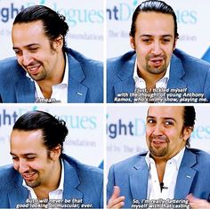 Lin-Manuel Miranda about in the heights Theatre Geek, Musical Theatre, Theater, Alexander Hamilton, Hamilton Lin Manuel Miranda, Anthony Hamilton, Lin Manual Miranda, Anthony Ramos, Hamilton Fanart