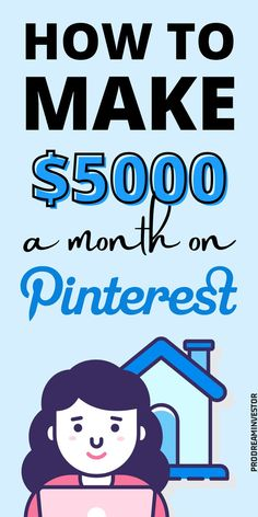 Learn how to make money on Pinterest with or without a blog. Make $5000 passive income every month with Pinterest while working from home. #makemoneyonpinterest #workfromhome Earn More Money, Make Money Fast, Make Money Blogging, Make Money From Home, Make Money Online, Online Income, Online Earning, Online Jobs, Midlife Career Change