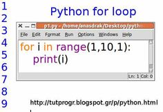 Simple for loop Python