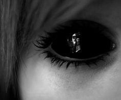 photography pretty art girl cute adorable film Black and White eyes Cool photo Awesome horror Model black eye dark fear amazing eyelashes terror symbolism lashes black eyes lenses Black Eye Kami Garcia, Demon Eyes, Jeff The Killer, Dark Photography, Eye Art, Dark Beauty, Creepypasta, Eye Color, Dark Art