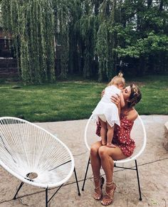 young | mothers | child | outdoor | home | family | brunette + blonde