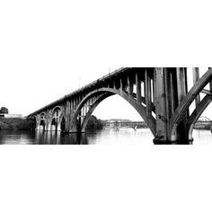 Bridge across river Henley Street Bridge Tennessee River Knoxville Knox County Tennessee USA Canvas Art - Panoramic Images (7 x 18)