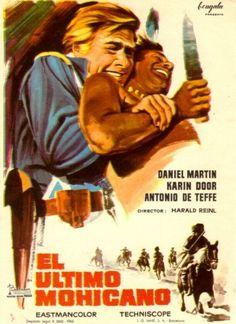El último mohicano (1965) Alemaña. Dir: Harald Reinl. Oeste - DVD CINE 1008