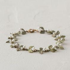 Flowering Myrtle Bracelet by Michael Michaud from Terrain