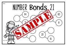 Maths resources, Number Bonds up to 30