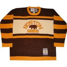 ebf2739c9 Boston Bruins 1926 27 Vintage Reebok Heritage Sweater Jersey. Hockey SweaterIce  Hockey JerseyVintage JerseysSport ...