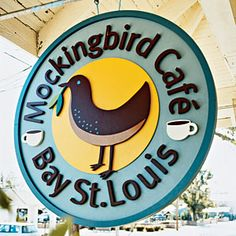 Mockingbird Cafe ~ Old Town Bay St. Louis, Mississippi