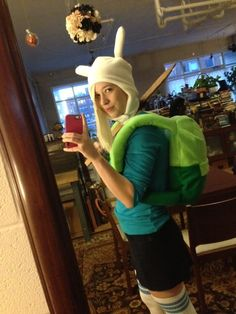 Fionna Cosplay - Adventure Time!