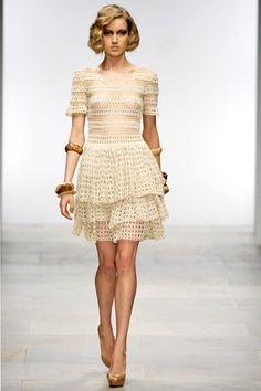 Captivating Crochet a Bodycon Dress Top Ideas. Dazzling Crochet a Bodycon Dress Top Ideas. Crochet Skirts, Crochet Blouse, Crochet Clothes, Knit Dress, Boho Dress, Dress Skirt, Lace Dress, Knitting Designs, Crochet Designs