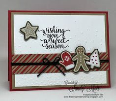 Candy Cane Christmas | The Scrap n' Stamp Shop: CREATIVE INKING BLOG HOP - Peeking into the Holidays