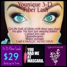 Interested in trying Younique 3D Fiber Lash Mascara, but don't want to pay for it? Ask me how you can earn it FREE!!   Visit my webpage: youniqueproducts.com/alenagarcia