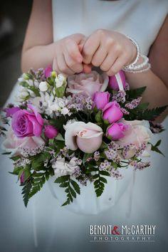 Flower girl #weddingbasket