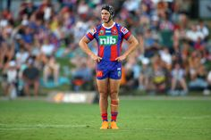 Kalyn Ponga Photos - Kalyn Ponga of the Knights during the NRL Trial Match between the Newcastle Knights and the Parramatta Eels at Maitland No 1 Showground on February 2018 in Newcastle, Australia. Rugby League, Rugby Players, Newcastle Knights, Teenage Dream, Favorite Person, My Boyfriend, My Boys, Bae, Husband