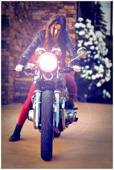 152174e57a337 Vespa, Women Riding Motorcycles, Vintage Motorcycles, Custom Motorcycles,  Harley Davison,