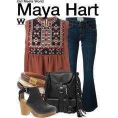 Inspired by Sabrina Carpenter as Maya Hart on Girl Meets World.