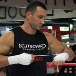 Videos/Photos Wladimir Klitschko media workout in Florida.