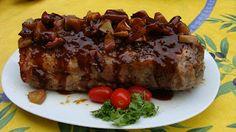 Roasted Pork with Maple Mustard Crust