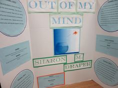 Out of My Mind by Sharon M. Draper Reading Fair, Out Of My Mind, Novels, Mindfulness, Bullet Journal, Study, Author, Writing, School