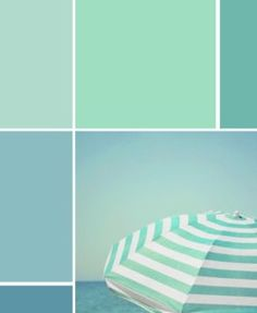 sea greens - hello be my color scene Hrubec Hrubec Schmeltzer Shiver Colour Pallette, Colour Schemes, Beach Color, Coastal Bedrooms, Beach House Decor, Home Decor, Coastal Decor, Coastal Living, Room Paint