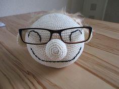 Jetzt sucht mein Mann nicht mehr nach seiner Brille, dank Opa Fridolin!