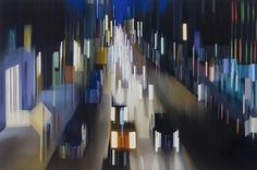 New Speeding Through NYC Oil Paintings by Alexandra Pacula - My Modern Metropolis