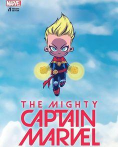 Captain Marvel Baby Variant - Skottie Young
