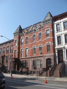 Queen Anne Tenements (1880s) 809–11 Willoughby St. East Brooklyn Bedford-Stuyvesant, Brooklyn