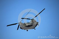 Chinook Helicopter at Southport Air Show.