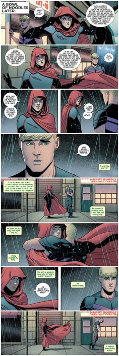 "Young Avengers #9 - ""The Kiss and The Make-Up"" written by Kieron Gillen art by Jamie McKelvie & Mike Norton"