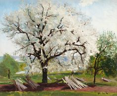 The Flowering Fruit Tree by Carl Frederik Hill | Art Posters