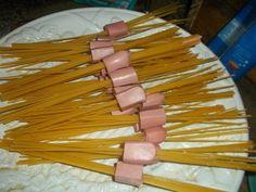 Comida campestre: Espaguetis enlazados