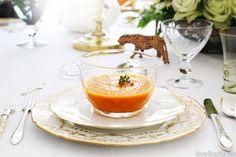 Carrot Ginger Soup Recipe |  http://www.housebeautiful.com/kitchens/recipes/carrot-ginger-soup?src=spr_FBPAGE&spr_id=1451_32955818