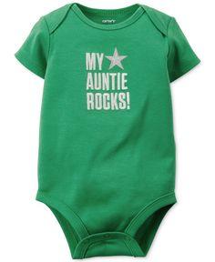 Carter's Baby Boys' Green Slogan Bodysuit