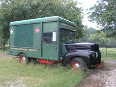 47 Ford Railway Express Agency delivery van- REA began 1839, liquidated 1975.