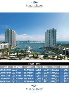 Marina Palms South Tower. For a private showing call (786) 525-9430.