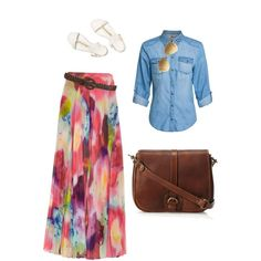 Spring Time, Casual Apostolic by talking-tina on Polyvore featuring ONLY, Alice + Olivia, Tory Burch, Massimo Dutti, Wet Seal and Ray-Ban