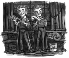 Fred and George by Felicia Cano