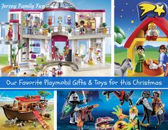 Jersey Family Fun's gift guide of our favorite Playmobil gifts and stocking stuffers for Christmas, and sets to help your kids get ready for the holidays.