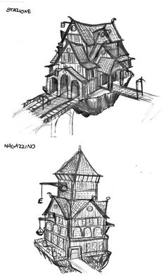 Oh my gosh! These are some concepts on DA for some Minecraft houses. Aweosme. The first one gives me too many ideas for train stations. I'm starting to think I'm obsessed with train stations.