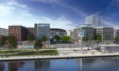 Entertainment District an der MB Arena (Mediaspree) - Deutsches Architektur-Forum