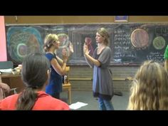 Prairie Moon Waldorf School Circle Inservice - Left Right Activity 2nd Grade - YouTube