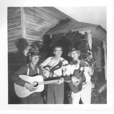 Clarence Ashley | dancing and singing at Eva Ashley's home.
