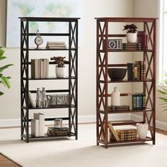 Montego 5 Tier Bookcase | from hayneedle.com