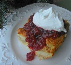Cranberry Orange Bread Pudding by Deals to Meals