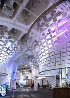 SOFTlab and The Living produced the exhibition design for ReGeneration at the New York Hall of science-Common Weathers