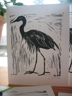 Great Blue Heron by CircusGirlDesigns on Etsy, $3.00 @Sneak_Attacks