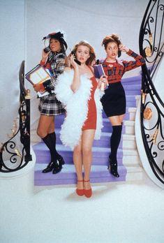 Dionne (Stacey Dash), Cher (Alicia Silverstone) y (Brittany Murphy) - Fuera de onda (1995)
