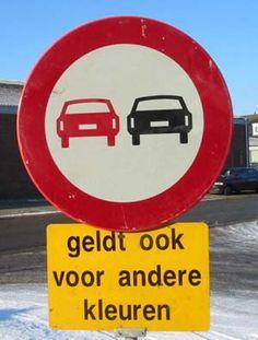 Gekke verkeersborden